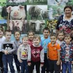 """Наш музей посетили самые маленькие жители района. Это воспитанники детских садов """"Солнышко""""  и """"Сказка"""". Для них была проведена обзорная экскурсия по залам природы и этнографии"""
