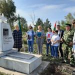 #75летпобеды #ермекеевскиймузей Сегодня администрацией района, районным военным
